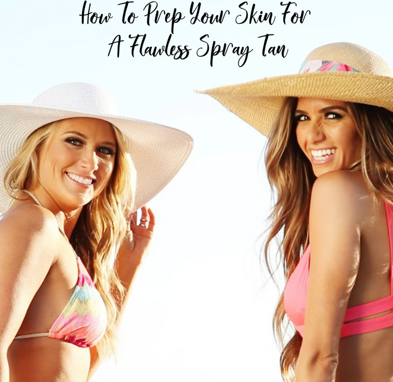 How to perfectly prep your skin for a sunless tan