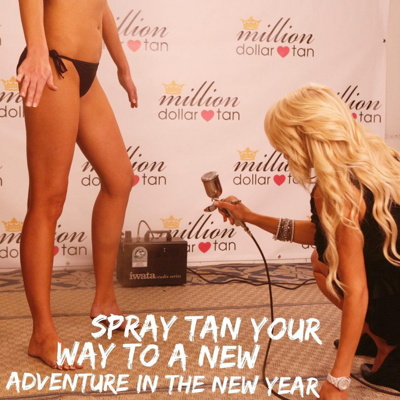Episode 7: Spray Tan Your Way To A New Adventure In The New Year!
