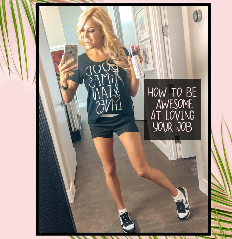 how to start a side hustle with spray tanning