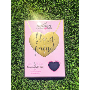 Blend Friend Face and Body Mitt Set