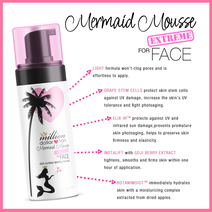 Mermaid Mousse Extreme Face