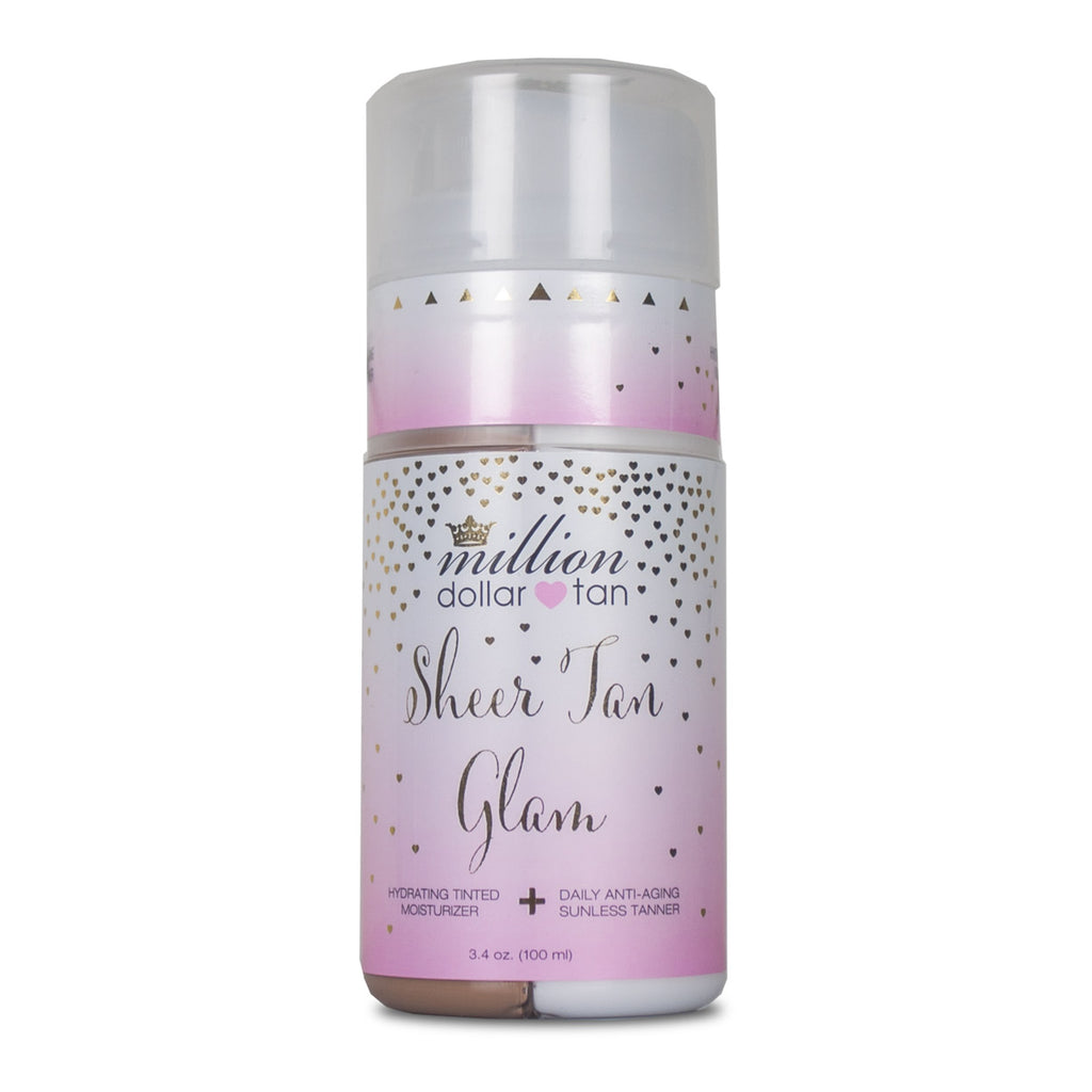 Sheer Tan Glam Tinted Moisturizer
