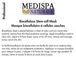 Medispa Naturals BioCellulous Stem-cell Mask (face shape)