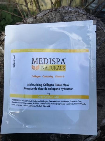 Medispa Naturals Moisturizing Collagen Tissue Mask