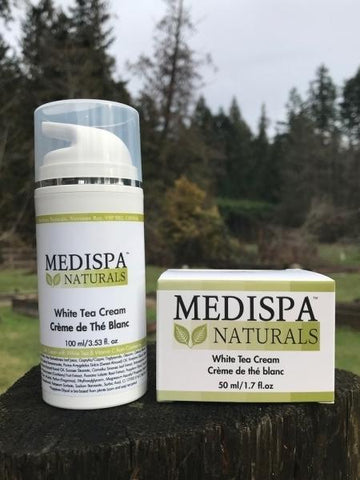 Medispa Naturals White Tea Cream