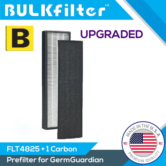 Filter B GermGuardian Premium Replacement Hepa for FLT4825 AC4825 Hepa BulkFilter 1 Pack