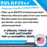 Filter Queen Defender 4000 7500 360 HEPA Plus Replacement Filter Bundle Bundle BulkFilter