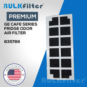 GE Cafe Series Fridge Odor Air Filter- 835789 simple BulkFilter 1 Pack