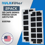 GE Cafe Series Fridge Odor Air Filter- 835789 simple BulkFilter 2 Pack