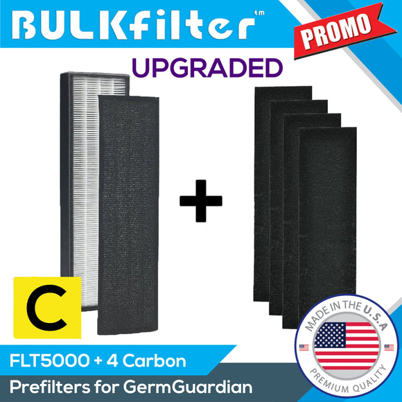 GermGuardian FLT5000 HEPA Replacement Bundle Filter C Bundle BulkFilter