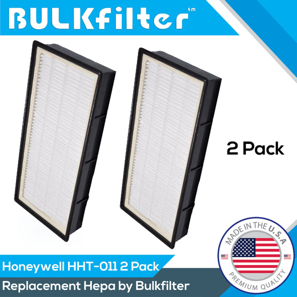 Honeywell HEPA Filter - HHT-011 (No Tabs) Hepa BulkFilter 2 Pack