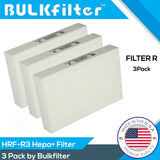 Honeywell HEPA Filter R 3pk Bundle HRF-R3 for HPA 300 Bundle BulkFilter 3 Hepa Only