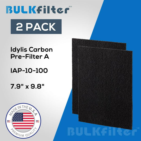 Idylis Air Purifier Carbon Filter A IAP-10-100 simple BulkFilter 2 Pack