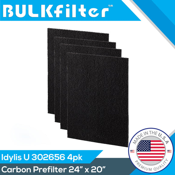 Idylis Carbon Filter U - 302656 | Cut To Fit | 24