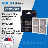 Kenmore Elite Refrigerator Air Filter 469918 simple BulkFilter 1 Pack
