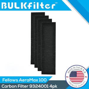 Premium Carbon Filters for Fellowes AeraMax100 - 9324001 Carbon Filter BulkFilter 4 Pack