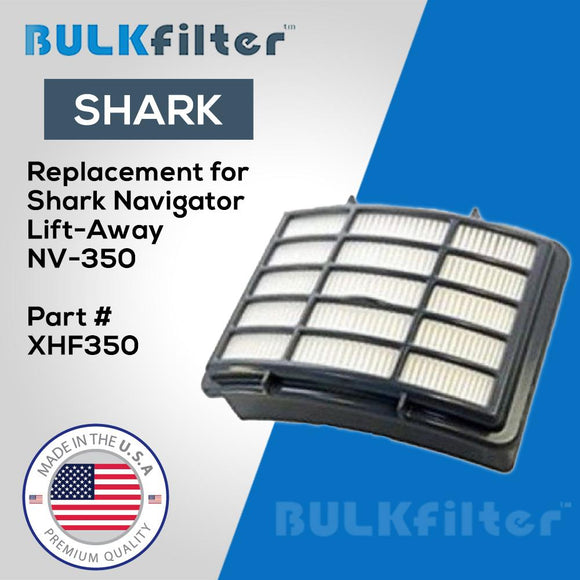 Shark Navigator Lift-Away HEPA Filter-NV350 simple BulkFilter