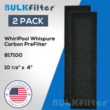 Whirlpool Whispure Portable Tower Air Purifier Pre-Filter - 817100 simple BulkFilter 2 Pack