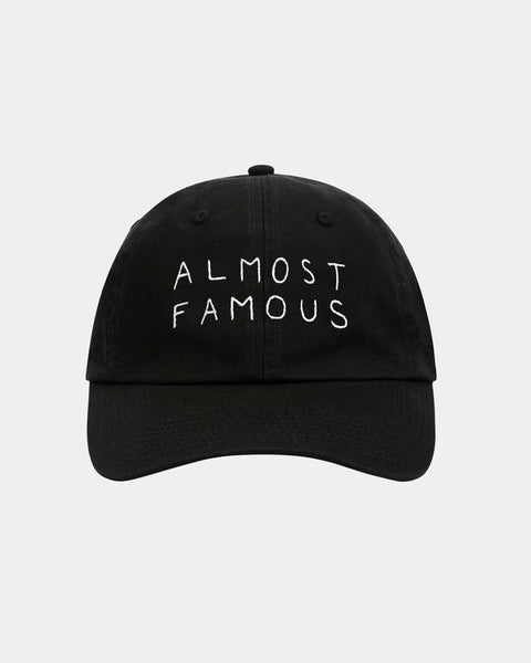 Nasaseasons almost famous embroidered baseball hat black - Bonvion