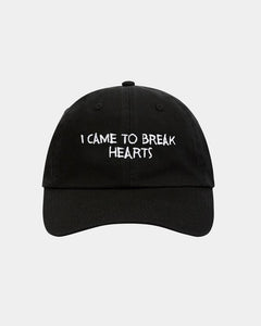 Nasaseasons I came to break hearts embroidered black baseball hat - Bonvion