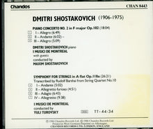 画像をギャラリービューアに読み込む, SHOSTAKOVICH PIANO CONCERTO NO.2-Shostakovich etc. [CD]