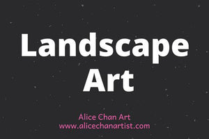 This is a complete list of landscape art work by the contemporary Hong Kong fine artist, Alice Chan. In here, you can find original art work and print-on-demand art prints such as canvas print, framed print, and poster print. Enjoy your shopping today.