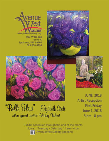 avenue west gallery alice chan june 2018 artist reception flyer