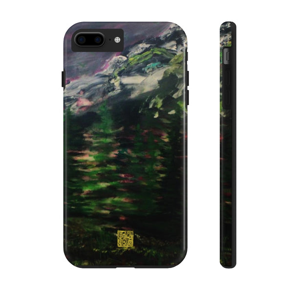 Purple Mt. Rainier iPhone Case, Case Mate Tough Samsung or Phone Cases-Made in USA
