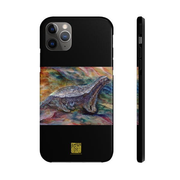 Honey Badger Art iPhone Case, Case Mate Tough Samsung or Phone Cases-Made in USA