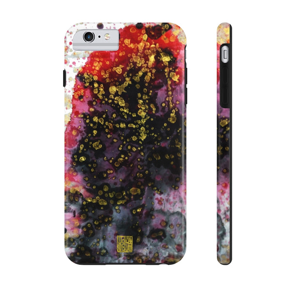 Red Chinese Ink Art iPhone Case, Case Mate Tough Samsung or Phone Cases-Made in USA