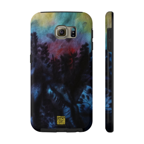 Chinese Mountain Art iPhone Case, Case Mate Tough Samsung or Phone Cases-Made in USA
