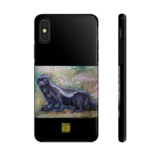 Honey Badger Animal iPhone Case, Case Mate Tough Samsung or Phone Cases-Made in USA
