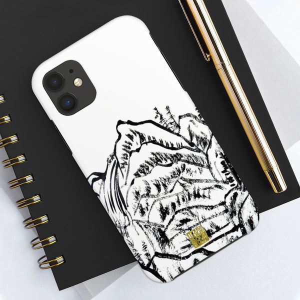 Chinese Landscape Art iPhone Case, Case Mate Tough Samsung or Phone Cases-Made in USA