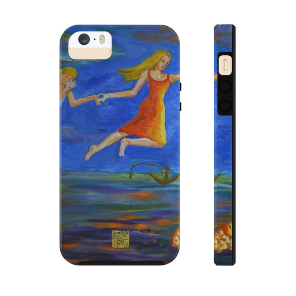 Angels Art iPhone Case, Surreal Case Mate Tough Samsung or Phone Cases-Made in USA