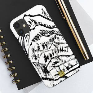 Chinese Abstract Ink iPhone Case, Landscape Mountain Art, Case Mate Tough Samsung or Phone Cases-Made in USA, Ink Phone Case, Ink Art Phone Case, Abstract Phone Case, Art Phone Cases