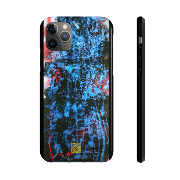 Blue Galaxy iPhone Case, Chinese Art Space Case Mate Tough Samsung or Phone Cases-Made in USA