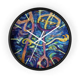 Chan, A Chinese Last Name, Happy Face 10 inch Dia. Wall Clock- Made in USA - alicechanart