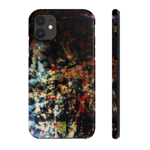 "Abstract Ink Art iPhone Case, Chinese Ink Art Phone Case, Case Mate Tough Samsung or Phone Cases-Made in USA, Derived from ""Orchestra of Life 2 of 3"" Art Print"