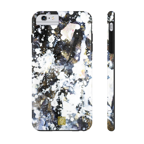 Silver Galaxy iPhone Case, Case Mate Tough Samsung or Phone Cases-Made in USA