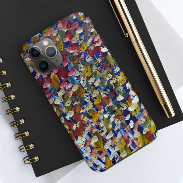 Abstract Dotted Art iPhone Case, Case Mate Tough Samsung or Phone Cases-Made in USA