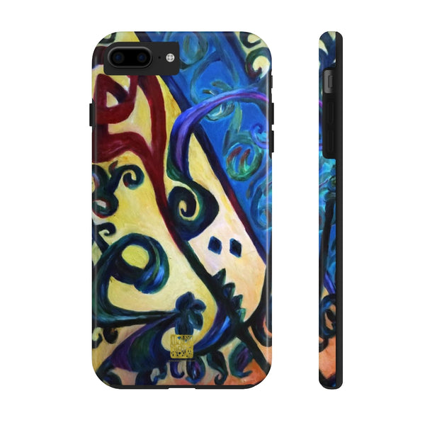 Red Rose Abstract iPhone Case, Case Mate Tough Samsung or Phone Cases-Made in USA