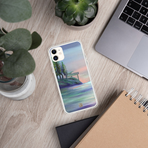 West Seattle, Pacific Northwest Designer iPhone Case, iPhone 7/6/7+/ 6/6s/ X/XS/ XS Max/ XR/ 11/ 11 Pro/ 11 Pro Max Phone Case, Made in USA