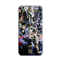 The Golden Galaxy of Life's Forces, Best Abstract Art Print iPhone Case- Made in USA/ EU - alicechanart