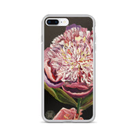 Chinese Peony Hybrid, 2018, Chinese Peonies Floral Flower Print iPhone Case- Made in USA/ EU - alicechanart