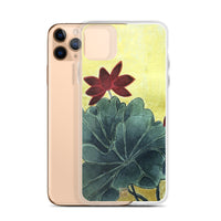 Lotus Floral iPhone Case, Eternally Blissful Flower iPhone 7/6/7+/ 6/6s/ X/XS/ XS Max/ XR/ 11/ 11 Pro/ 11 Pro Max Phone Case, Made in USA/EU