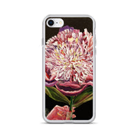 Chinese Peony Hybrid, 2018, Floral Print, Floral Best Art iPhone Case- Made in USA/EU - alicechanart