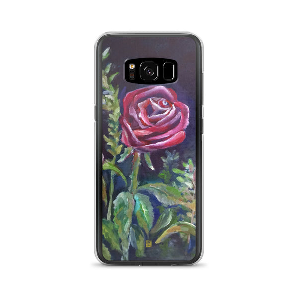 Vampire Red Rose Floral, Samsung Galaxy S7, S7 Edge, S8, S8+, S9, S9+ Phone Case, Made in USA - alicechanart