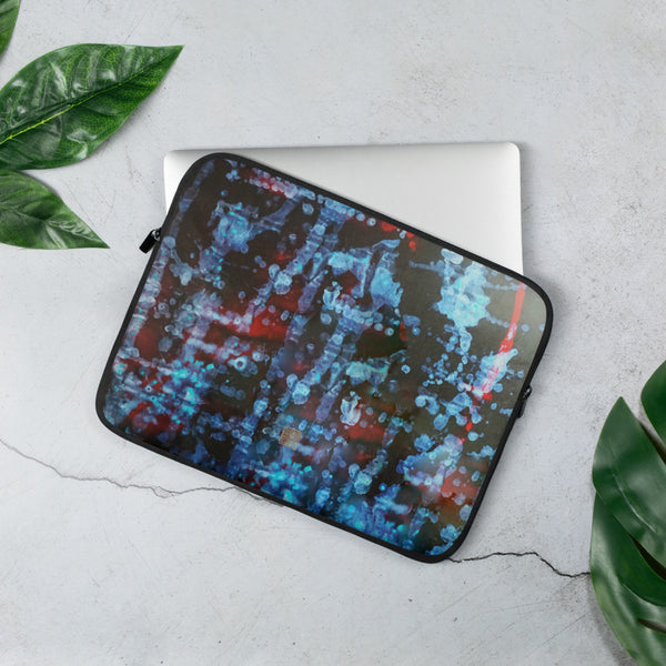 """Orchestra of Life 3 of 3""- 13""/15"" Snug Fit Stylish Art Laptop Sleeve-Printed in USA/ Europe"