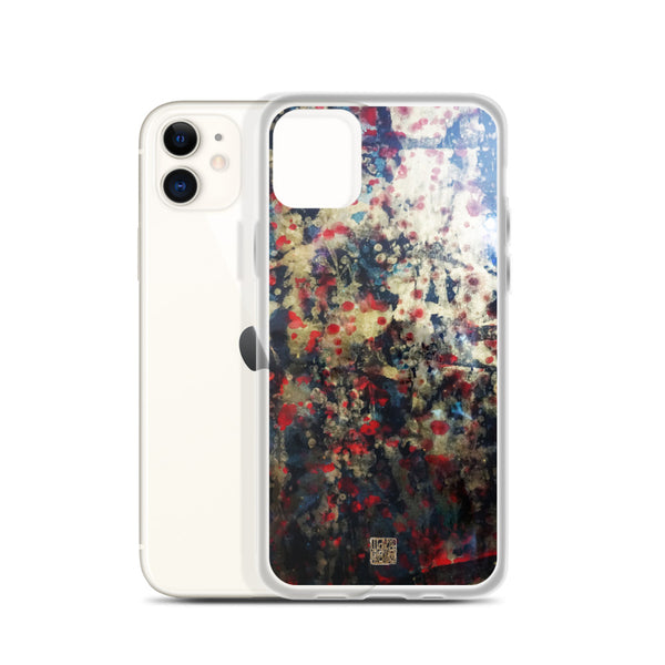 Orchestra of Life 2 of 3, Abstract Modern Chinese Ink Print iPhone Case, Made in US, iPhone 7/6/7+/ 6/6s/ X/XS/ XS Max/ XR/ 11/ 11 Pro/ 11 Pro Max Phone Case, Made in USA