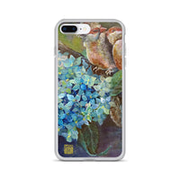 """Morning Chirping Bird,"" Cute Animal iPhone Phone Case, Made in USA - alicechanart"